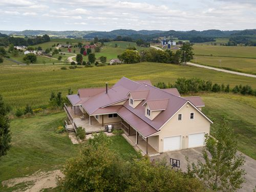Beautiful Farm Reduced By $100,000 : Richland Center : Richland County : Wisconsin