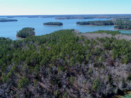 Lake Front Development Ready : Calhoun Falls : Abbeville County : South Carolina