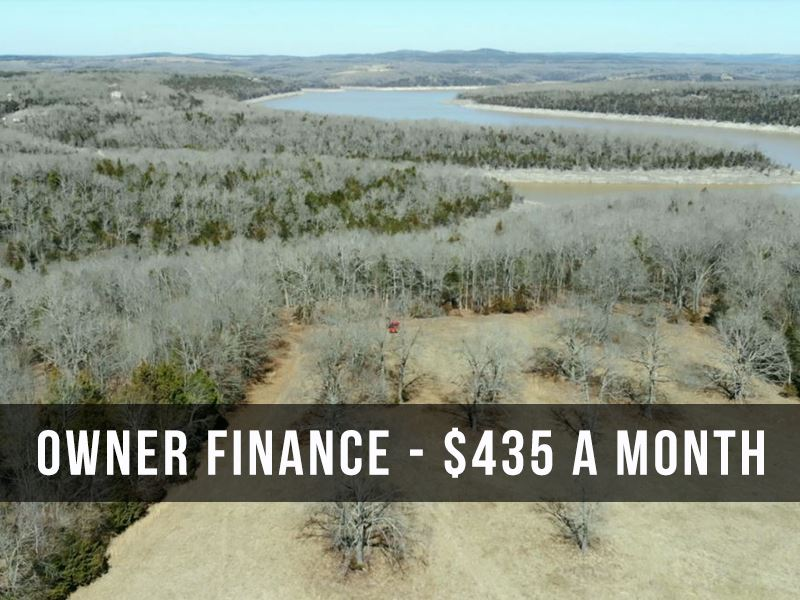 6 Acres On Bull Shoals Lake : Cedarcreek : Boone County : Missouri