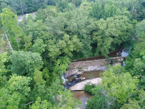 Antebelle Dam : West Union : Oconee County : South Carolina