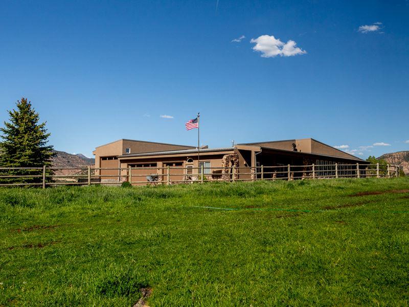 Eagle View Ranch : Collbran : Mesa County : Colorado