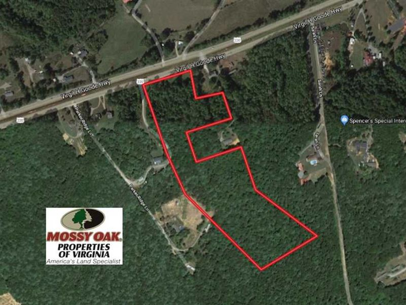 17 Acres of Commercial And Residen : Rocky Mount : Franklin County : Virginia