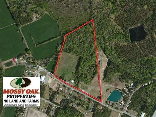 Under Contract, 20.46 Acres of Pa : Whiteville : Columbus County : North Carolina