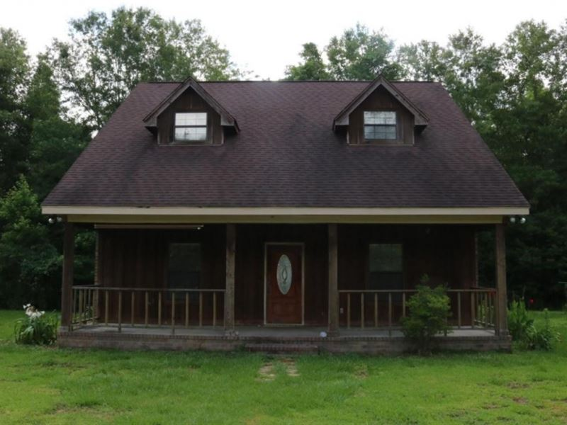 32 Acres With A Home In Marion Coun : Columbia : Marion County : Mississippi