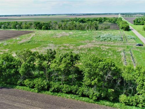Rural Acreage With Quiet Sd Views : Oldham : Kingsbury County : South Dakota
