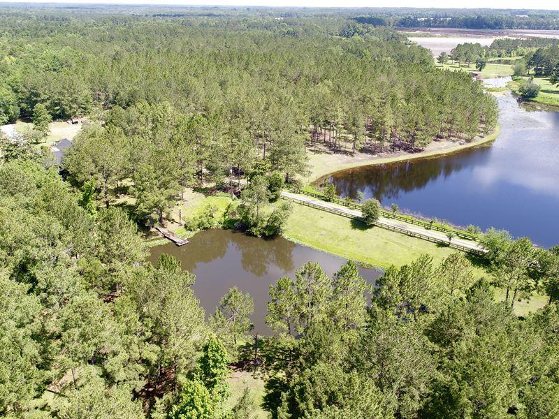River Frontage Farm With 2 Ponds : Ochlocknee : Thomas County : Georgia
