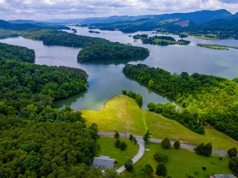 Cherokee Lake Front Home W 7 Acres Farm For Sale Bean