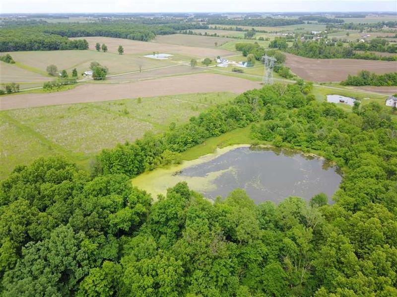 31 Acres, 4784 N 175 E Ossian : Ossian : Wells County : Indiana