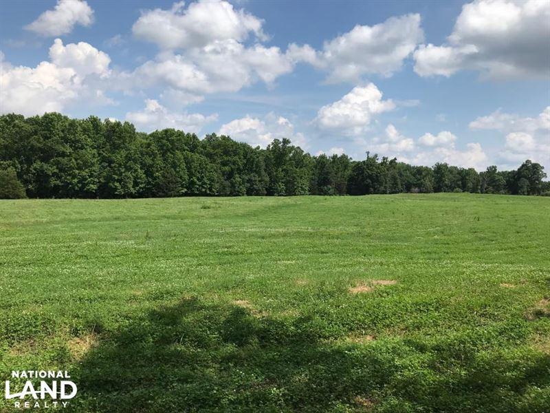 Mini Farm And Homesite, 9.99 Acres : Belton : Greenville County : South Carolina