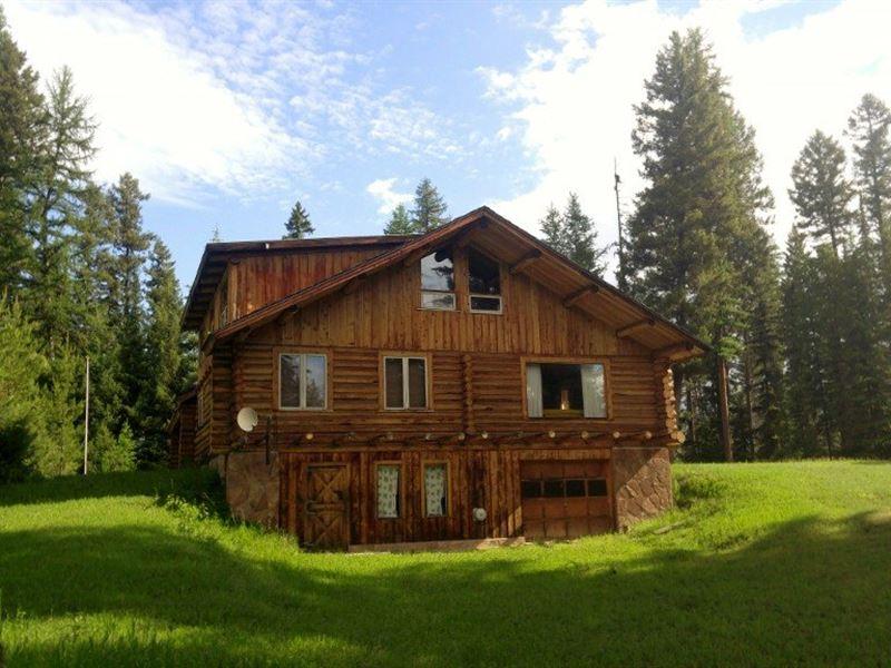 Private Swan River Cabin : Condon : Missoula County : Montana