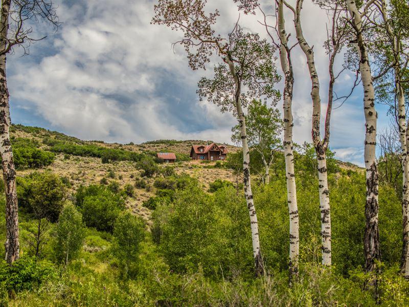 West Divide Creek Ranch : Silt : Mesa County : Colorado