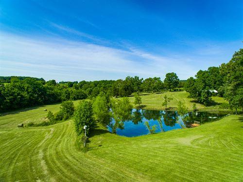25.84 Ac Farm W/Rustic Hm, Barn : Gamaliel : Monroe County : Kentucky