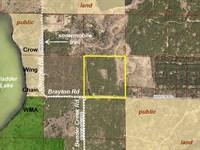 Hubbard, Cw Lake, 1393313, Sesw : Nevis : Hubbard County : Minnesota