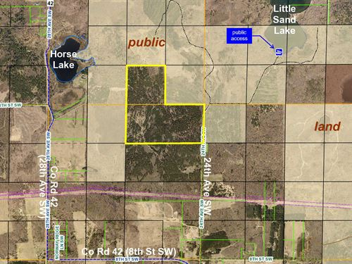 Cass, Pine River, 1383001 & 1383012 : Backus : Cass County : Minnesota