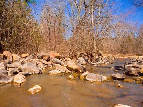 Beautiful Stream Retreat : Wilburton : Latimer County : Oklahoma