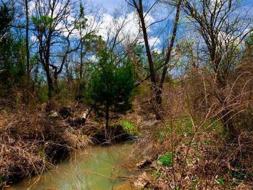 Beautiful Stream Property 241 : Wilburton : Latimer County : Oklahoma