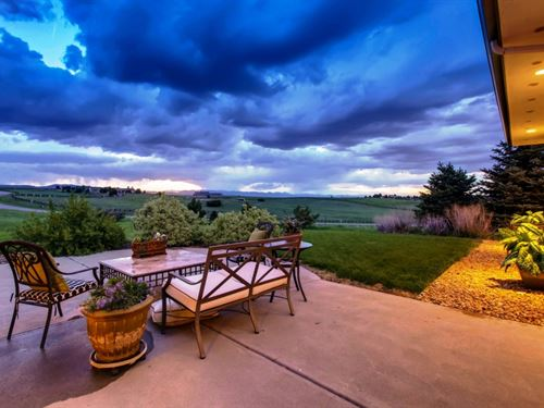 Castle Rock Exclusive Estate : Castle Rock : Douglas County : Colorado