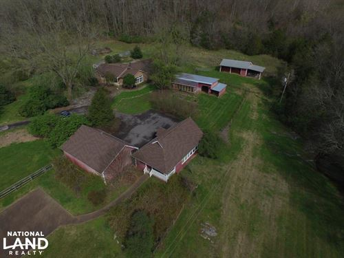 Rocky Valley Acreage And Farmhouse : New Market : Jefferson County : Tennessee