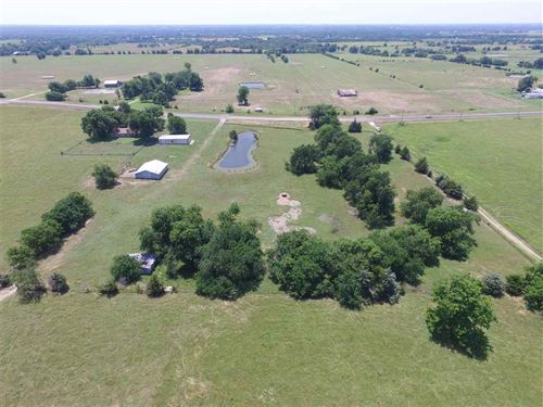 75+Acre Tract With Home : Sumner : Lamar County : Texas