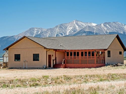 6447830, Very Well Kept Home On 10 : Buena : Chaffee County : Colorado