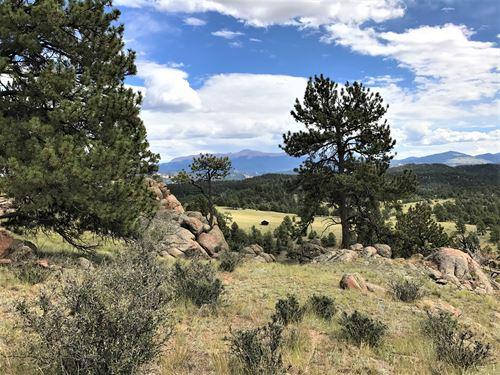 Teller Park Ranch, Parcel 2 : Florissant : Teller County : Colorado