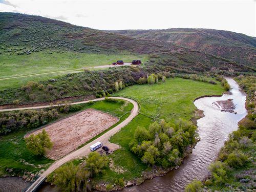 Williams Fork River Ranch : Hamilton : Moffat County : Colorado