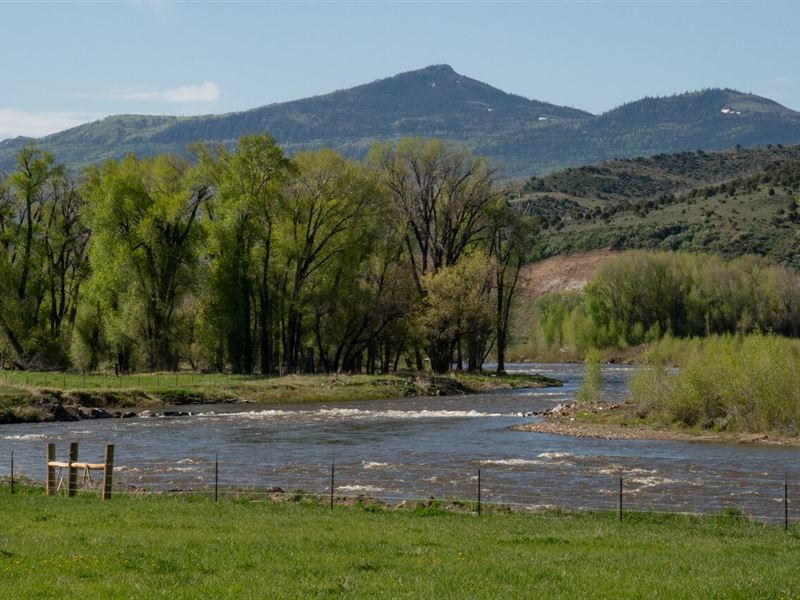 Dunckley Little Snake River Ranch : Dixon : Carbon County : Wyoming