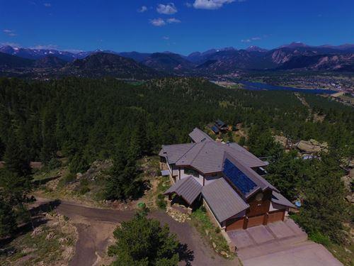 Estes Park Acreage And Views : Estes Park : Larimer County : Colorado