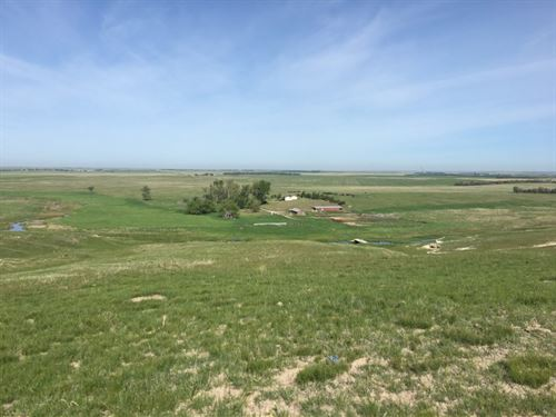 Box Butte Creek Home And Grass : Hay Springs : Sheridan County : Nebraska
