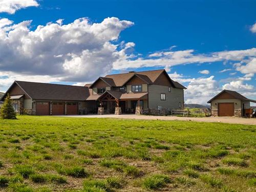 Six Bedroom, Five Bath Home on 5 : Cody : Park County : Wyoming