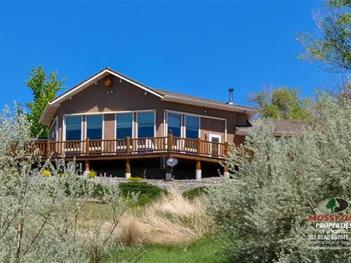 Riverfront Two Bedroom, Two Bath : Powell : Park County : Wyoming