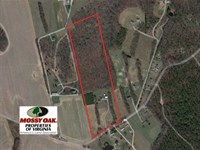 25 Acres of Land With Home in King : Aylett : King William County : Virginia