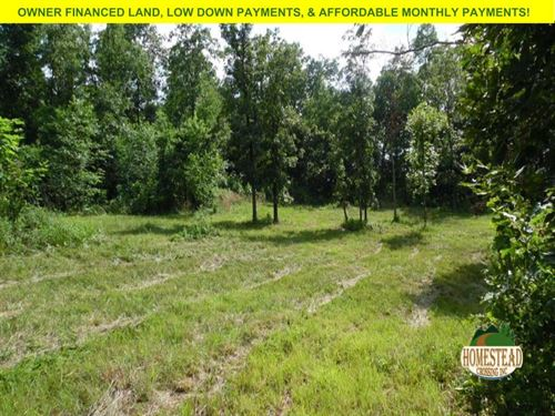 Nice Home-Site With County Views : Pomona : Howell County : Missouri