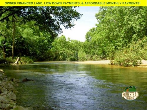 Large Riverfront Property : Houston : Texas County : Missouri