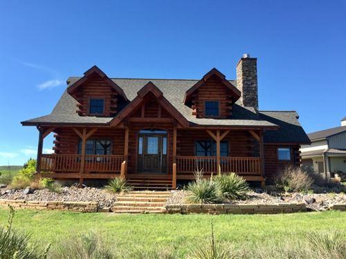 Dundy County Log Home Acreage : Haigler : Dundy County : Nebraska