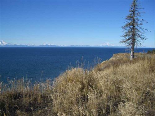 46 + Acre Ocean Front Subdivision : Anchor Point : Kenai Peninsula Borough : Alaska