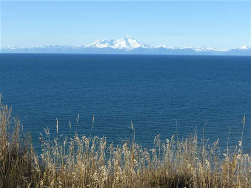 3 Oceanfront Lots Being Sold Toget : Anchor Point : Kenai Peninsula Borough : Alaska