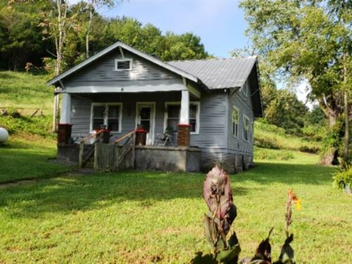 40 Acres, Home, Garage, Pasture : Gainesboro : Jackson County : Tennessee