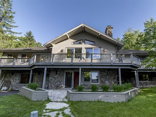 177643 Luxury Living, White Sand Lk : Lac Du Flambeau : Oneida County : Wisconsin