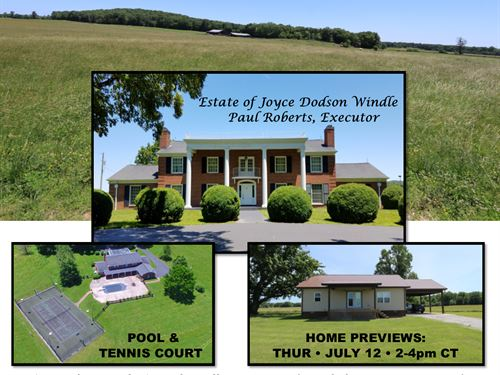 2 Homes & 217 Acres In 8 Tracts : Livingston : Overton County : Tennessee