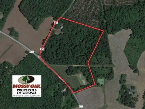 17 Acres of Recreational Hunting : Brookneal : Charlotte County : Virginia