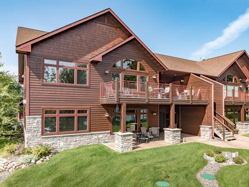 172735 Tomahawk Lake 3+ Br Condo : Minocqua : Oneida County : Wisconsin