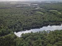 9 Ac Lake On 78 Acres Pike County : New Hartford : Pike County : Missouri