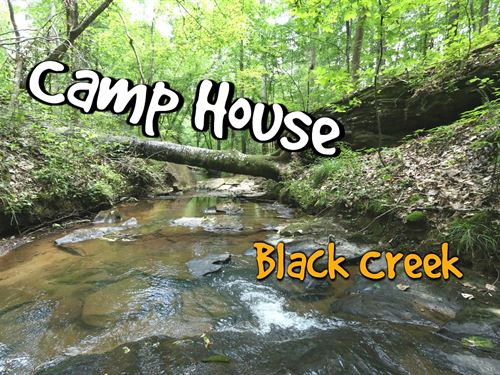 Camp House - Creek & 40 Acres : Argo : Saint Clair County : Alabama