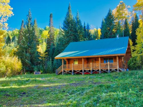 Log Cabin For Sale In Western Color : Montrose : Colorado