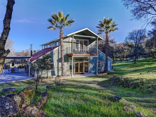 Grass Valley Home On Horse Property : Grass Valley : Nevada County : California