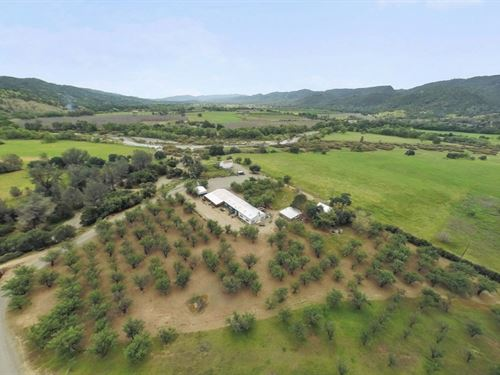 Rumsey River Ranch For Sale In Yolo : Rumsey : Yolo County : California
