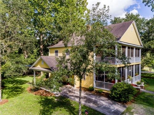 Private Colonial Home For Sale In : Bell : Gilchrist County : Florida