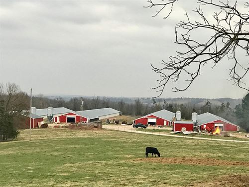 Poultry Farm With 104 Acres : Omaha : Boone County : Arkansas