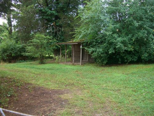 45 Acres With Home In Stevenson Al : Stevenson : Jackson County : Alabama